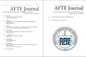 AFTE Journal Vol 52 No 2 (2020)