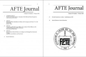 AFTE Journal Vol 53 No 1 (2021)
