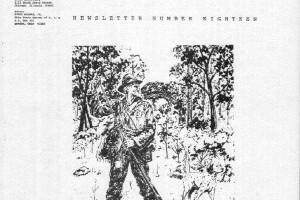 AFTE Newsletter Number 18 (1971)