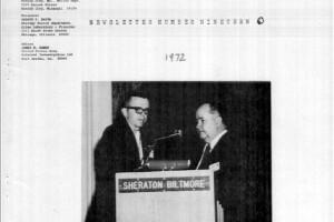 AFTE Newsletter Number 19 (1971)